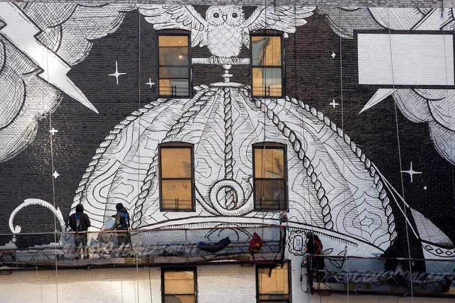 Gucci New Streetart Project in Soho