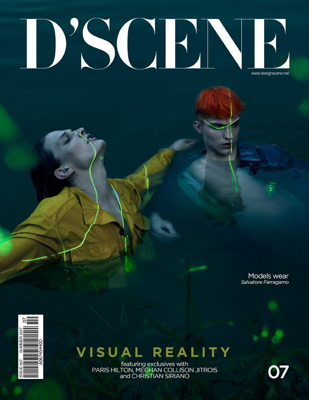 VISUAL REVOLUTION COVER BY CHUANDO & FREY FOR D'SCENE SUMMER 2017 (1 pics)