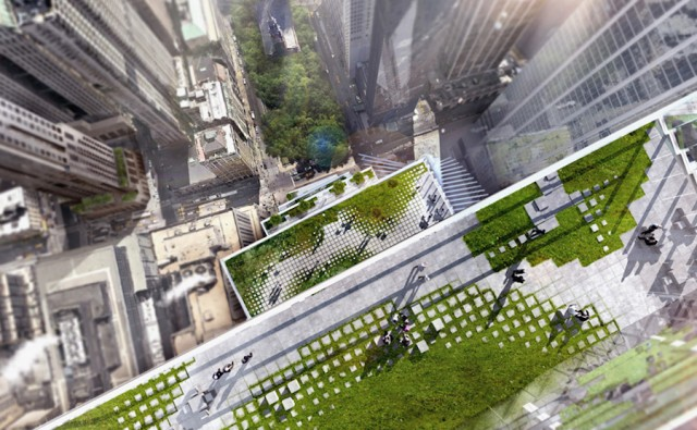 Two World Trade Center with Steps Will be Added to the NYC Skyline