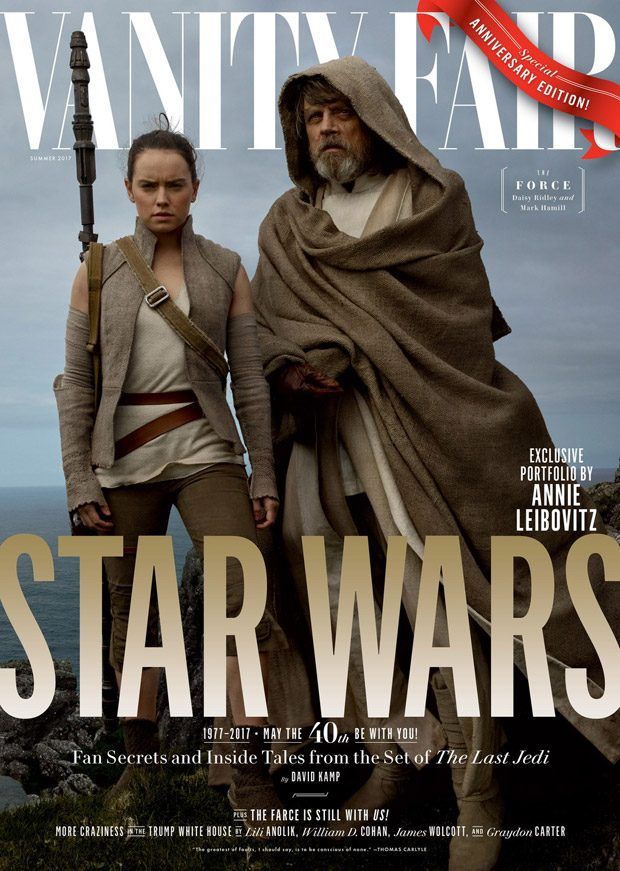 Star Wars: The Last Jedi Cast Cover Vanity Fair Summer 2017 Issue
