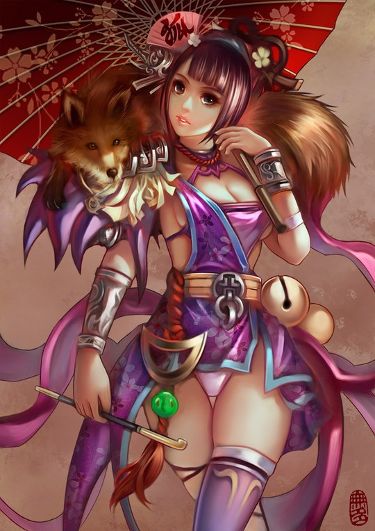 Digital Illustrations by Yucheng Hu
