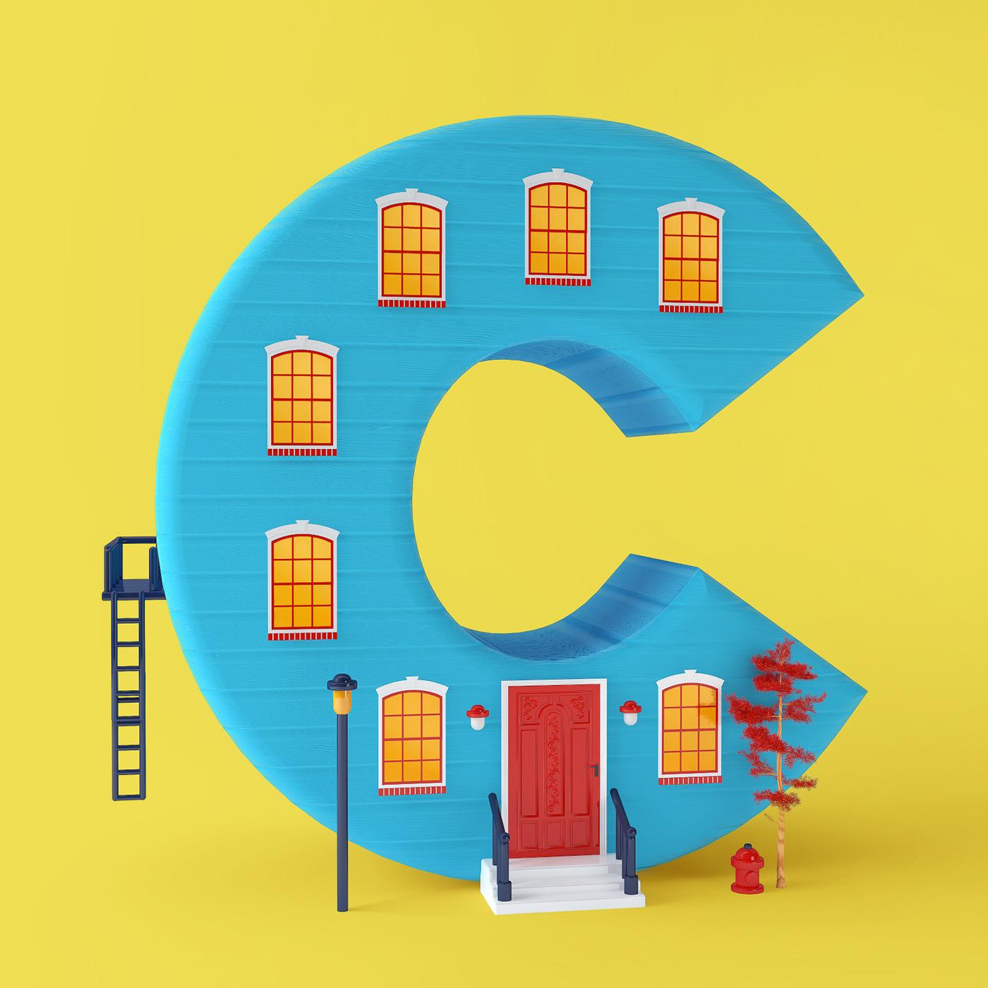 Cute Typography by Tatiana Astua
