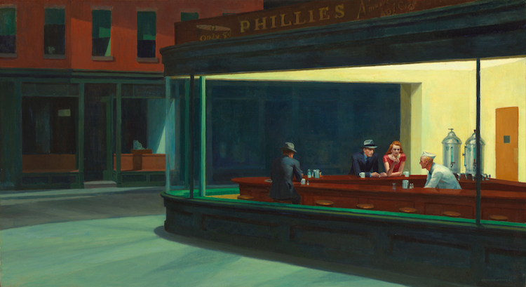 Edward Hopper Nighthawks Painting Is a Modern American Masterpiece (5 pics)