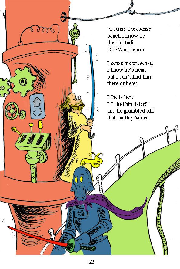 Dr Seuss style Star Wars Comics - Adam Watson