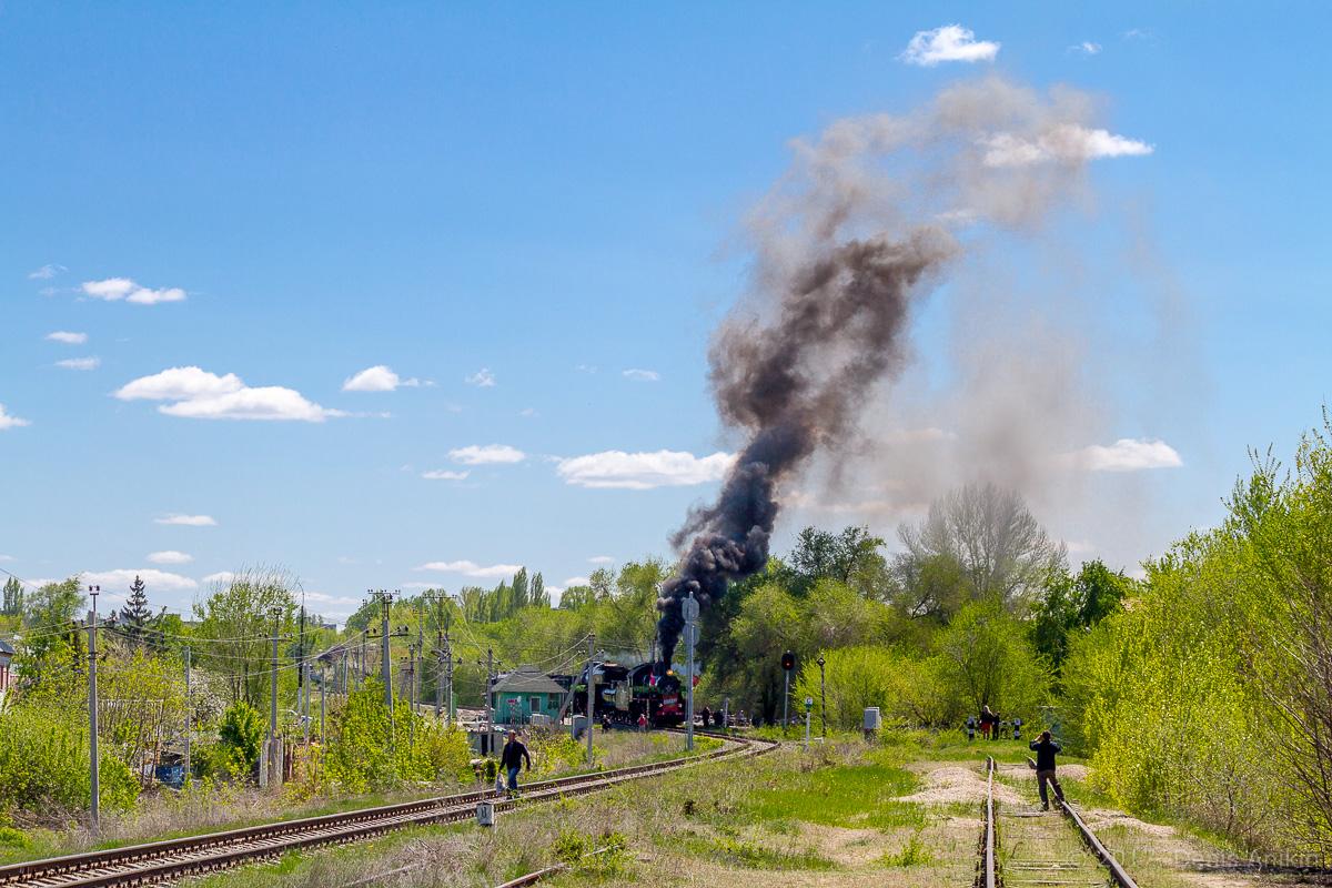 Ретро-поезд Победа фото 1