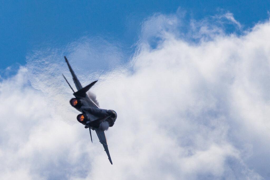 МиГ-35 и желе. МАКС