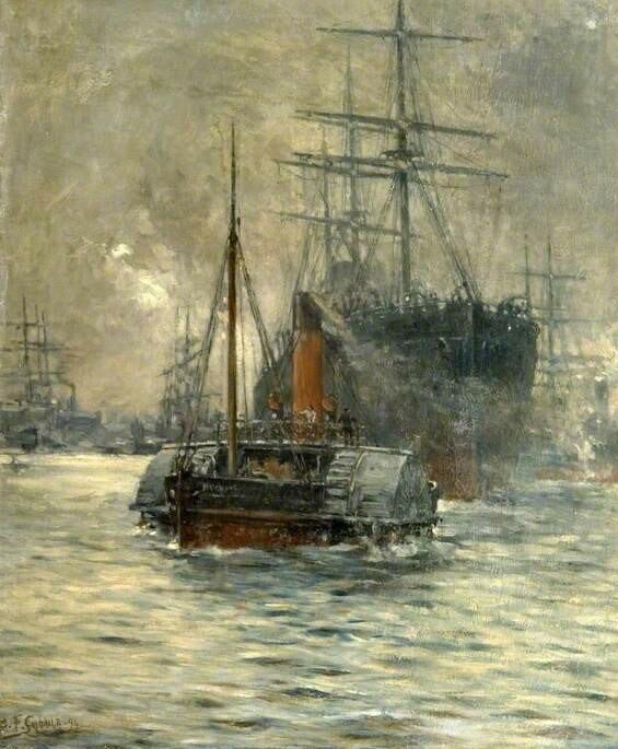 Evening Departure, London River Boat