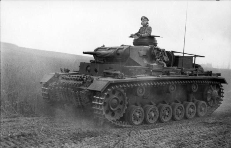 Jugoslawien, Panzer III in Fahrt