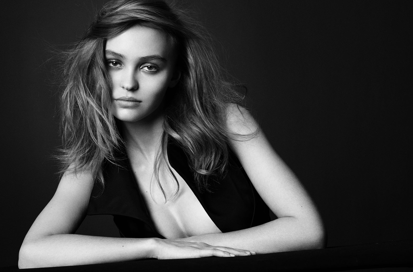 Лили-Роуз Депп / Lily-Rose Depp by Tom Munro - Vogue Italia march 2017