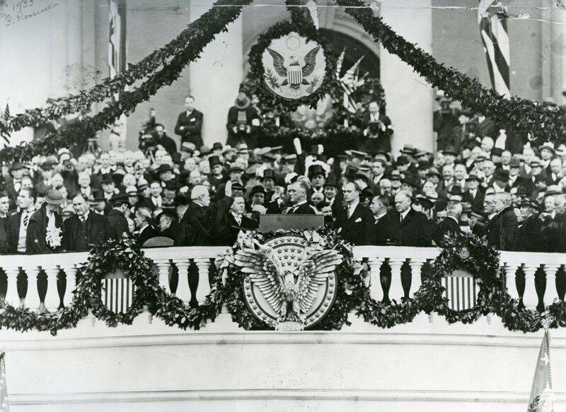 Инаугурация Ф. Рузвельта, 1933