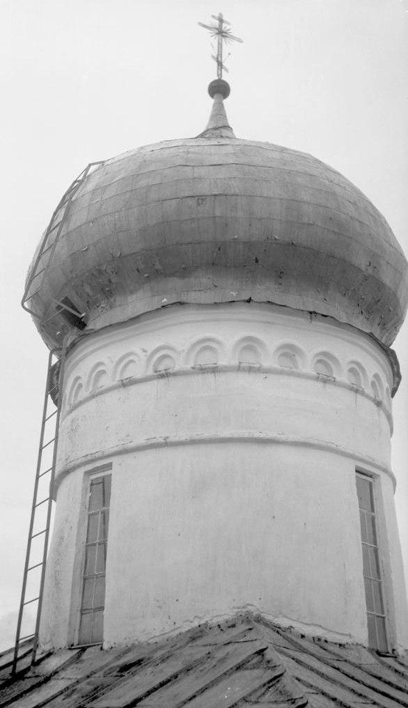 Преображенский собор. Деталь – глава собора. 1917