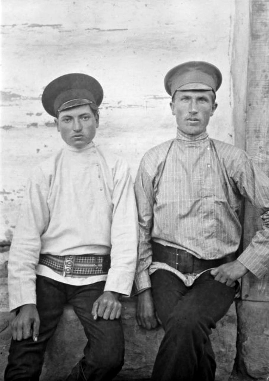 Бруслан. Эмиль Матвинин и Артамкан