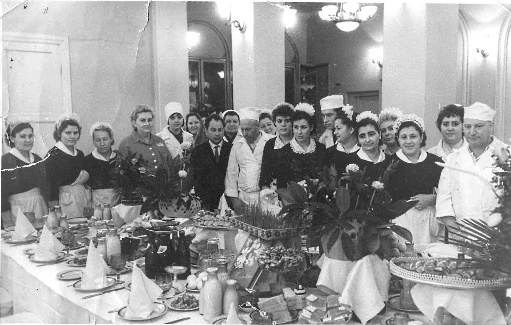Ялта. Ресторан Украина. 1960-е.