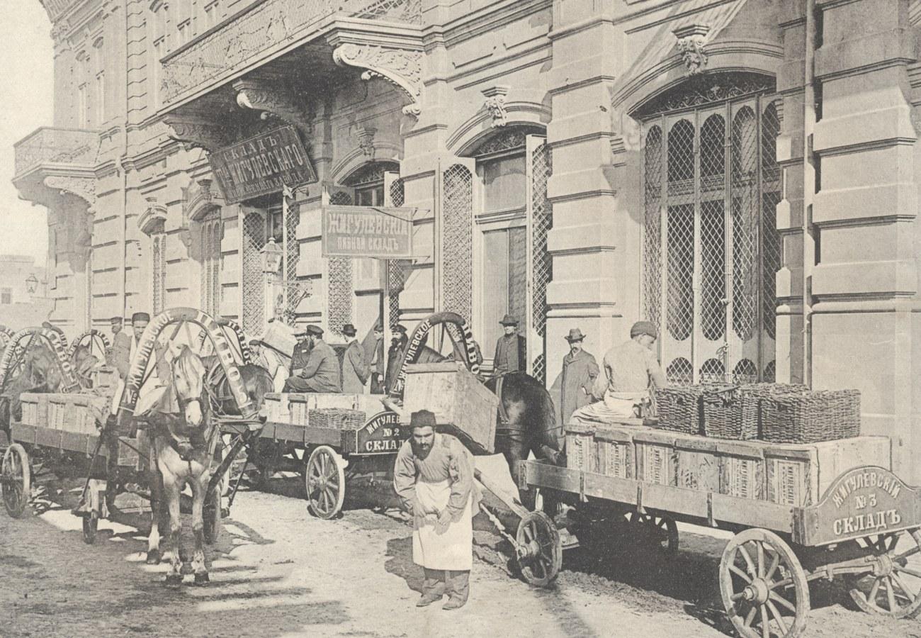 19. Склад Жигулёвского пивзавода в Баку