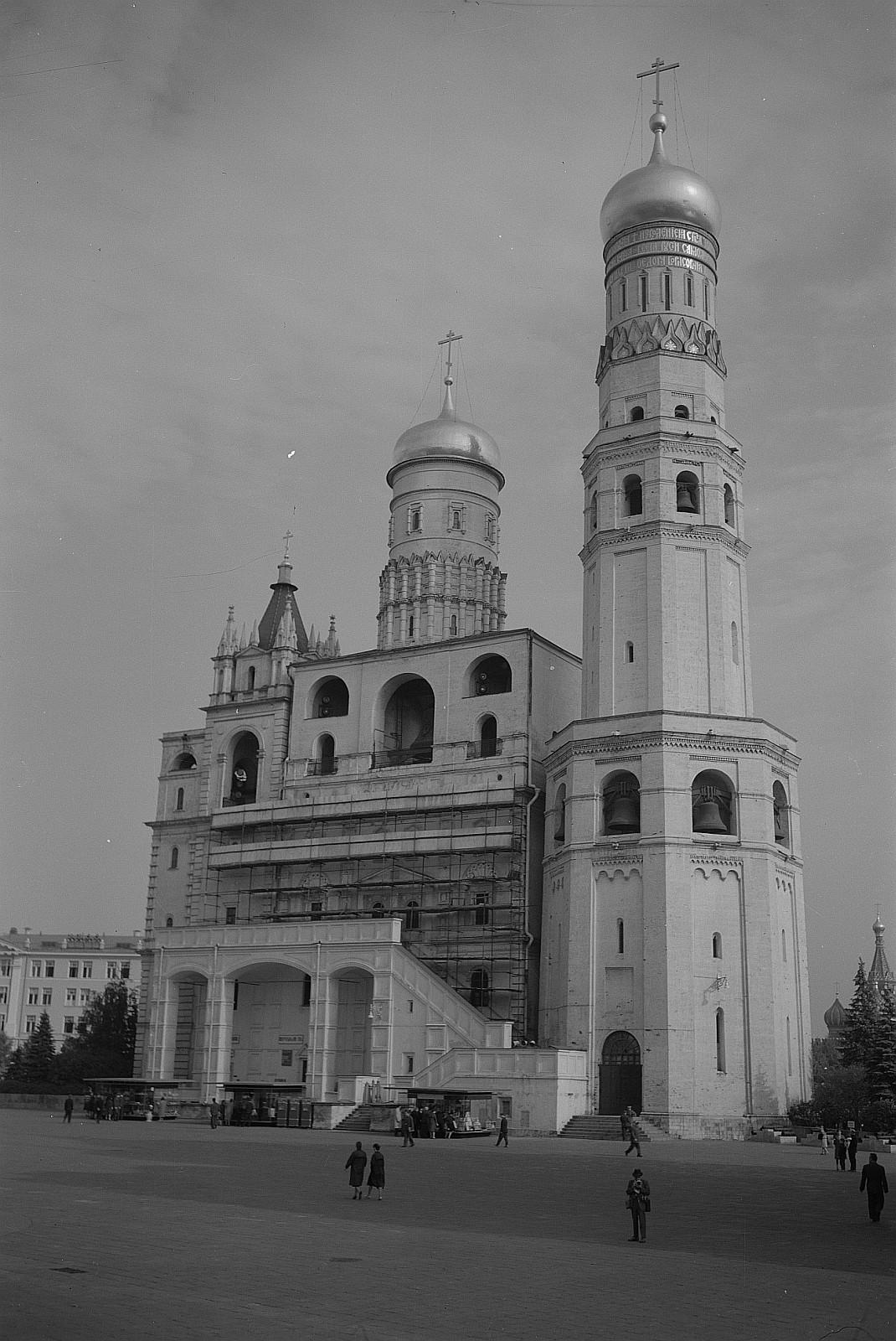 Кремль. Колокольня Ивана Великого башня