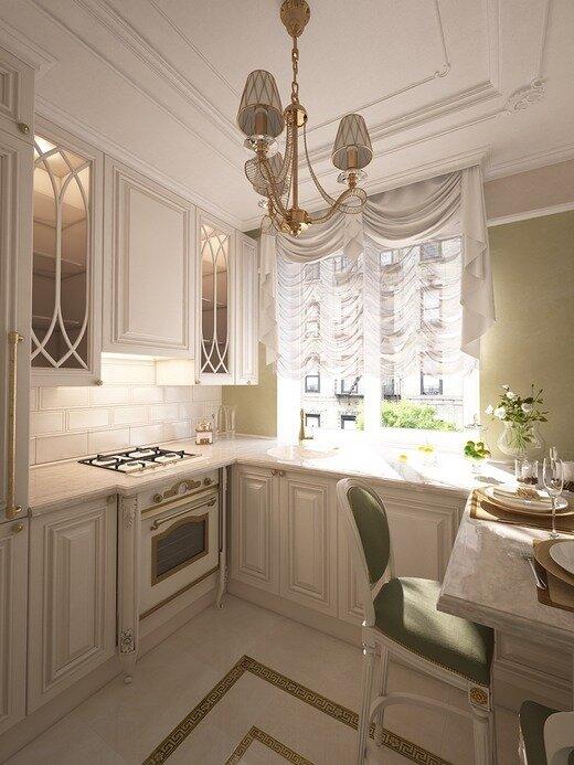 Вариация на тему маленькой кухни