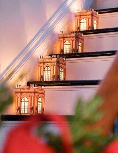 Новогодние украшения для дома - фонарики