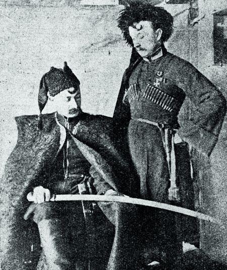 КОЗАЦЬКИМ шляхом. Старшини 3-го Гайдамацького полку, 1919 р.