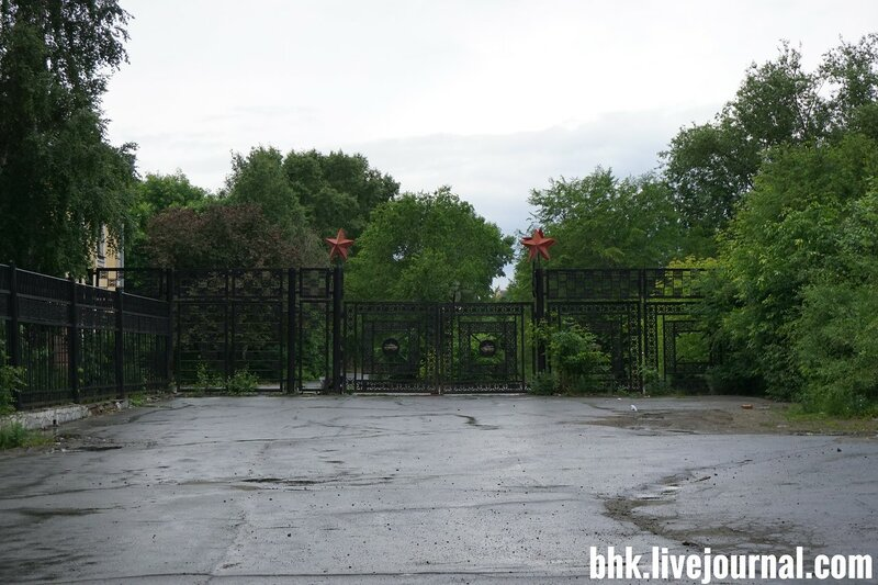 Зона отчуждения в центре Челябинска