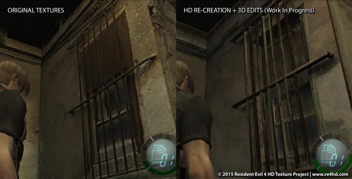 Новые скриншоты Resident Evil 4 HD Project - комната 305. 0_123383_63503982_orig