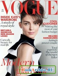 Журнал Vogue UK - February 2013.