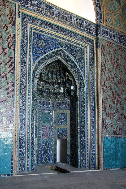 Михраб Пятничной мечети