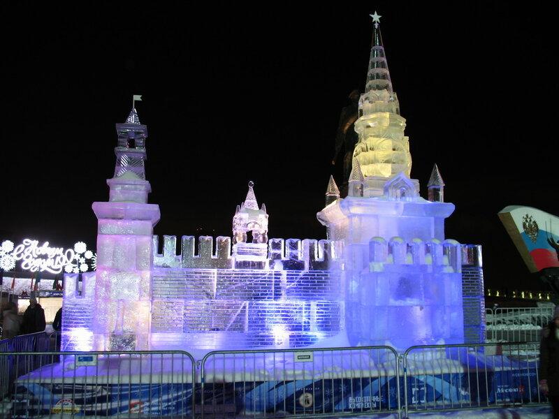 Ледовая Москва - Кремль