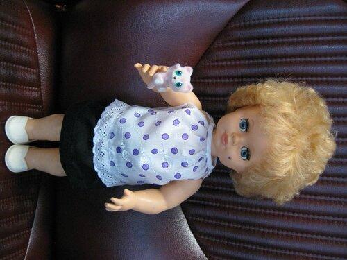 кофточка и юбочка для куклы