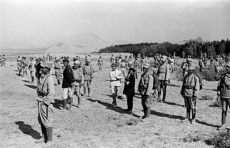 Советско-иранские отношения 30-40 гг