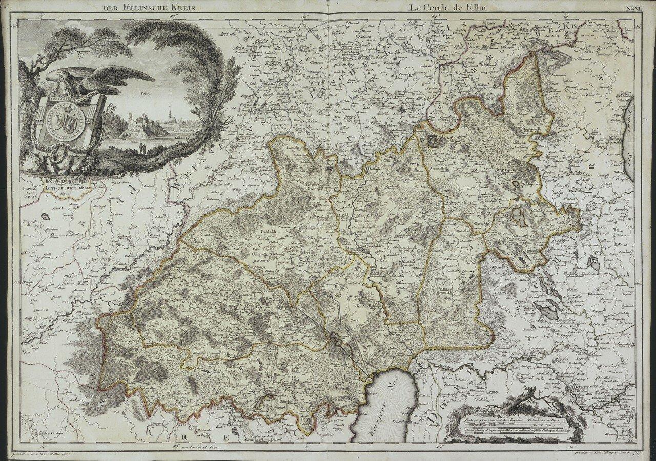 08. 1797. Феллинский уезд