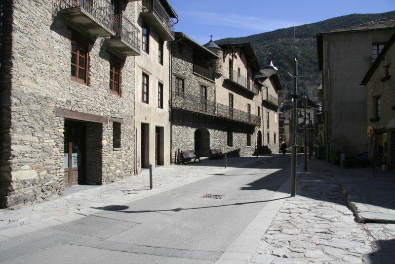 Центральная улица, Ордино