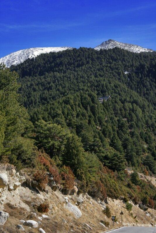 Андорра, Энкамп, дома на склоне горы