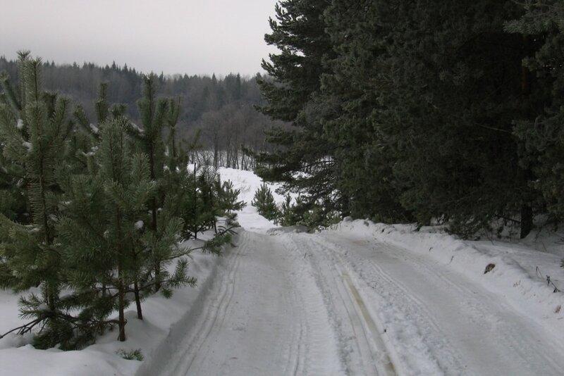 Зимняя дорога, Селигер