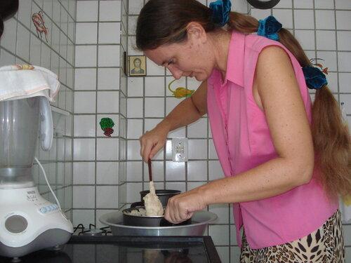 Приготовление сырной пасхи