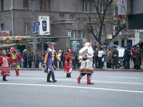 День Святого Патрика. Парад на Новом Арбате