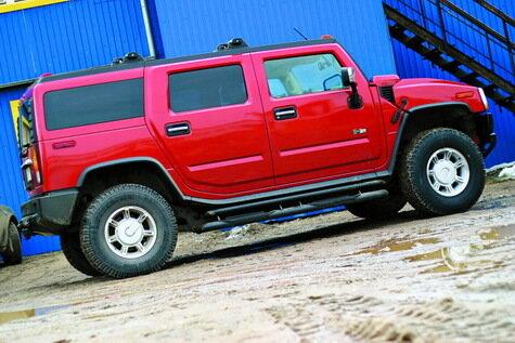 Hummer H2: лучшая машина для тюнинга