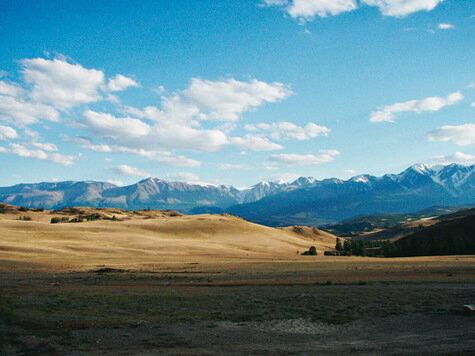 Поездка трех UAZ Patriot на плато Укок