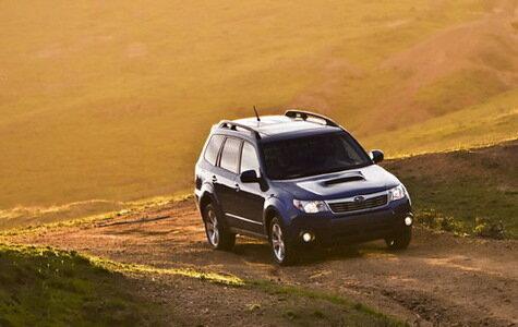 2009 Subaru Forester XT Кроссовер, внедорожник или универсал?