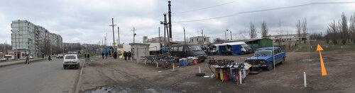 Остановка Донбас - панорама