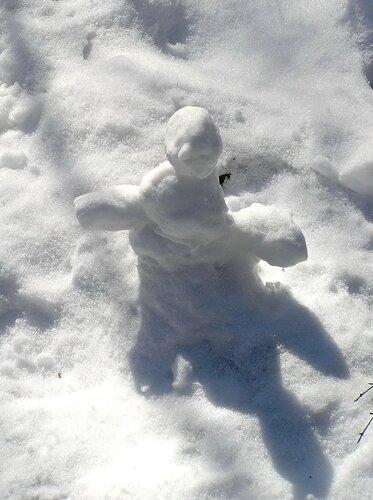 Последний снеговик.