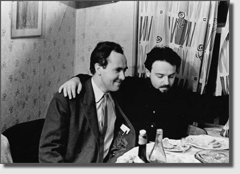 22 января 1963 года. Именины А. Меня (справа).