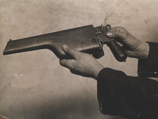 Gun used during Houndsditch Murders