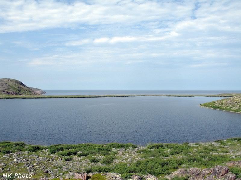 Секретарское озеро и Баренцево море
