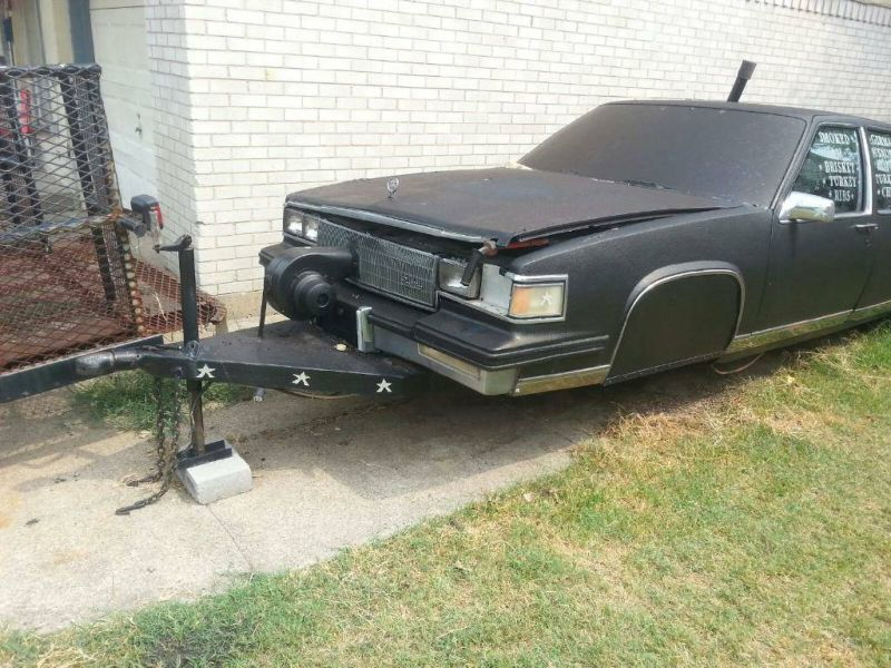 Old Cadillac Barbecue Grill