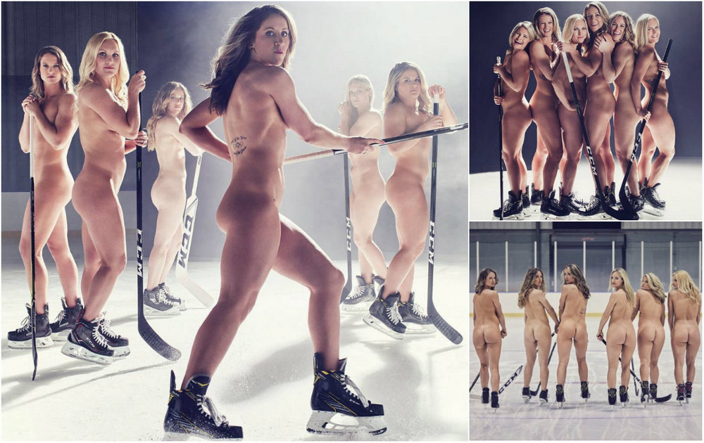 US hockey team undressed for the magazine