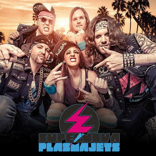 (Hard Rock | Glam) Supernova Plasmajets - Supernova Plasmajets - 2017, MP3, 320 kbps