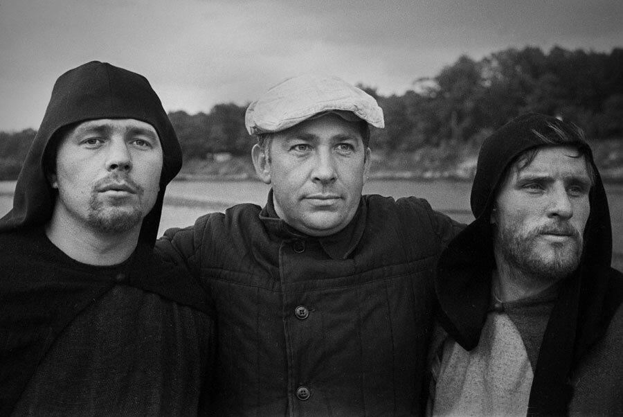 Вадим Юсов (в центре)