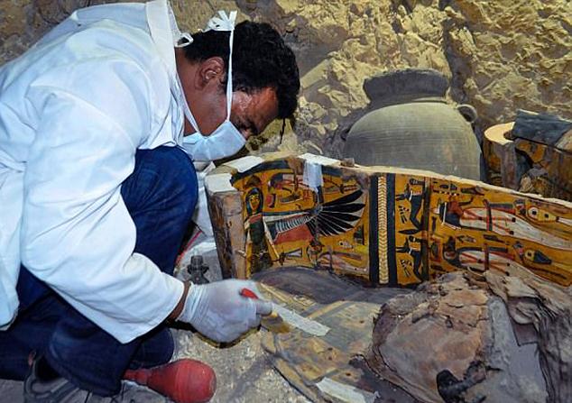 Раскопки в Луксоре