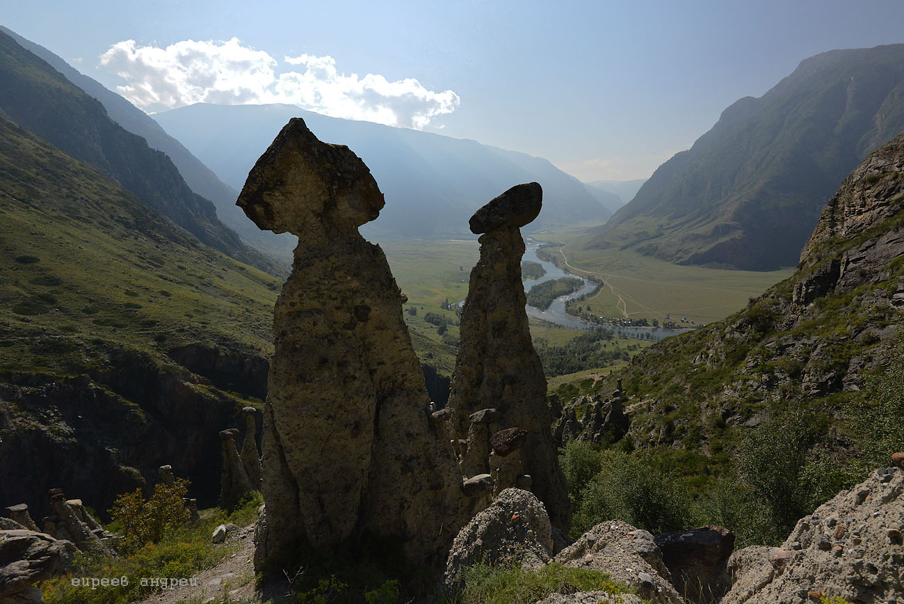 Каменные грибы.