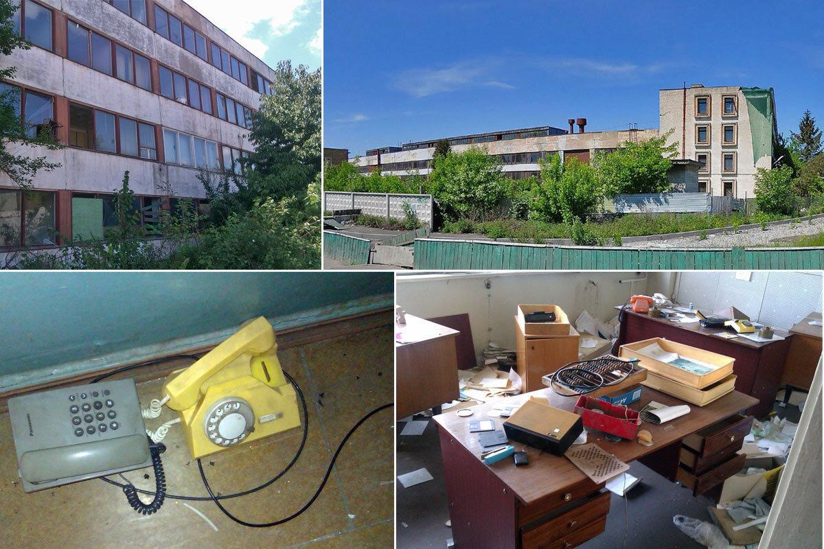 Закинутий завод «Ремдизель» в 2014му